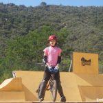 BMX freestile en Eurocamp