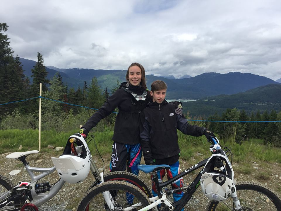 Whistler Bikepark first day